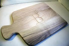 engraved cutting boards monogrammed wood cutting boards