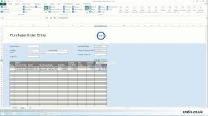 Free Purchase Order Template Excel Import Purchase Orders From Excel To 200