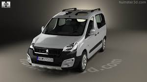 peugeot partner 2015 360 view of peugeot partner tepee outdoor 2015 3d model hum3d store