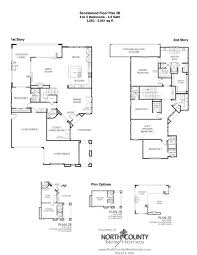 New Homes Floor Plans Sandalwood At La Costa Oaks Floor Plan 2b New Homes In La Costa