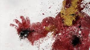 Paint Splatter Wallpaper by Iron Man Artwork White Background Paint Splatter Wallpaper 99008