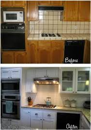 Kitchen Drawers Instead Of Cabinets After Pic Vintage Kitchen Cabinets Cleaned With 409 And Howards