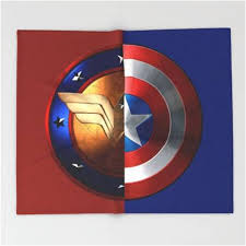 captain america shield light target captain america wonder woman shield sherpa blanket superhero sheets