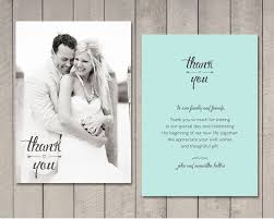 wedding thank you card thank you card wedding best 25 wedding thank you ideas on