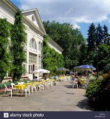 Cafe In Bad Homburg Open Air Cafe And Pump Room Resort Of Bad Homburg County Of Hesse
