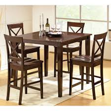 steve silver ct2000e cobalt 5 pack dining table set in espresso
