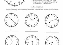2nd grade time worksheets u0026 free printables education com