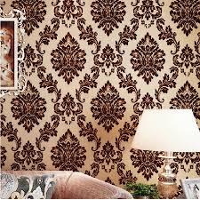home decor wholesale china online buy wholesale velvet flocked wallpaper from china velvet