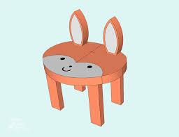 toddler animal stools