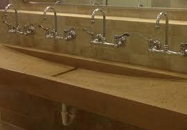 trough sink custom bathroom trough sink designs for commercial