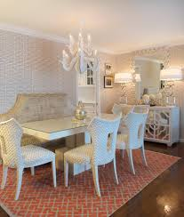 Beige Dining Room by Banquette Look Other Metro Transitional Dining Room Decorating