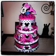 minnie mouse diaper cake disney diaper cake minnie mouse