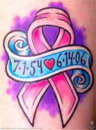 tattoo ideas breast cancer pink awareness ribbons tatring
