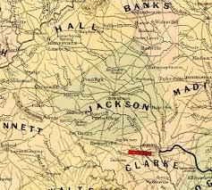 ga map historical maps winder ga