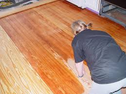 floor refinishing matching and our kitchen disaster