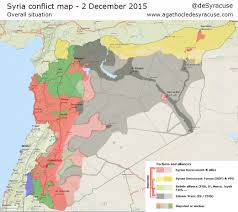 World War I Alliances Map by Agathocle De Syracuse Syria Conflict Interactive Map 2 Dec 2015
