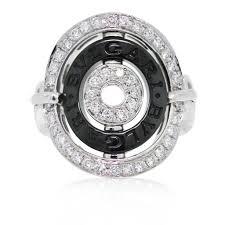 bvlgari diamonds rings images Bvlgari cerchi shield design diamond collapsible ring jpg
