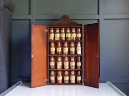 john wagner spice rack vintage spice rack glass bottles