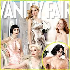 Jennifer Lawrence Vanity Jennifer Lawrence Vanity Fair Hollywood Issue With Lily Collins