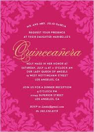 quinceanera invitations quinceañera invitations match your color style free basic