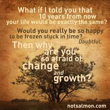 quotes change me why are you so afraid of change and growth notsalmon