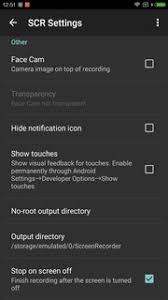 scr screen recorder apk scr pro 2 2 0 0 for android
