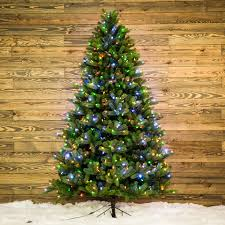 Christmas Ornament Storage Lowes by Shop Ge 7 5 Ft Pre Lit Colorado Spruce Artificial Christmas Tree