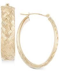 white gold hoops white gold hoop earrings shop white gold hoop earrings macy s