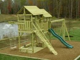 kids wooden playsets foter