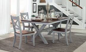dining room sets with fabric chairs bar harbor solid wood dining set haynes furniture virginia u0027s