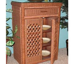 Wicker Bathroom Cabinet Wicker Bathroom Furniture