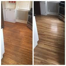 before and after floor refinishing looks amazing floor