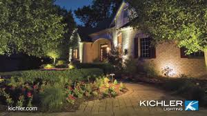 Kichler Landscape Light Kichler Outdoor Lighting Defines Your Style