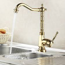 luxury kitchen faucets luxury gold chrome finish kitchen faucet