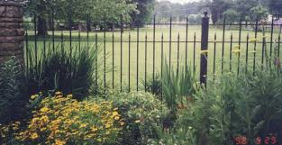 wrought iron fence posts how to make fence