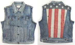 American Flag Jeans Ladies Ralph Lauren Denim U0026 Supply Demin Vest Size Xs American