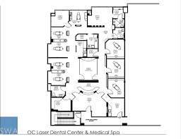 medical office floor plan oc laser dental center u0026 medical spa saunders wiant oc