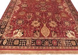 8 x 10 persian tabriz style rug 13001