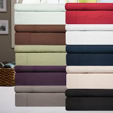 today only 6 piece 1500 tc sheet set as low as 16 shipped save