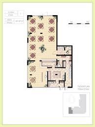 cafe floor plan decorticosis