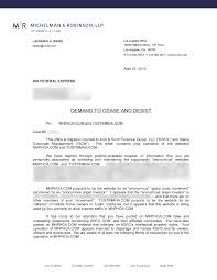 Assist Letter Of Demand Demand To Cease And Desist From Kort Financial