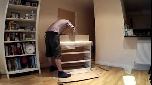 Building An Ikea Malm Chest Of Drawers In 45 Seconds Youtube