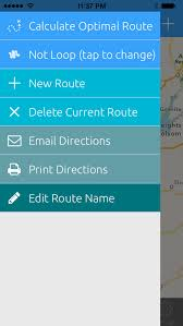 print driving directions from iphone route for ios multi stop map for deliveries errands