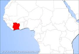 africa map ivory coast where is ivory coast located on the world map