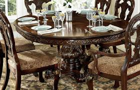 homelegance deryn park round pedestal dining table cherry 2243