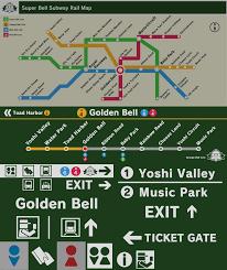 Subway Train Map by Super Bell Subway Super Mario Wiki The Mario Encyclopedia