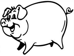 pig coloring pages free printable for kids enjoy coloring