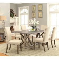7 dining room sets homelegance homelegance chicago 7 pedestal dining room set