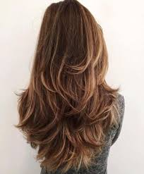 is v shaped layered look good for curly hair long layered hairstyles in diffrent style like v shaped end curls