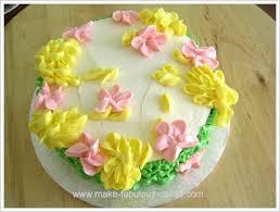 Flower Cakes All Buttercream Flower Cake
